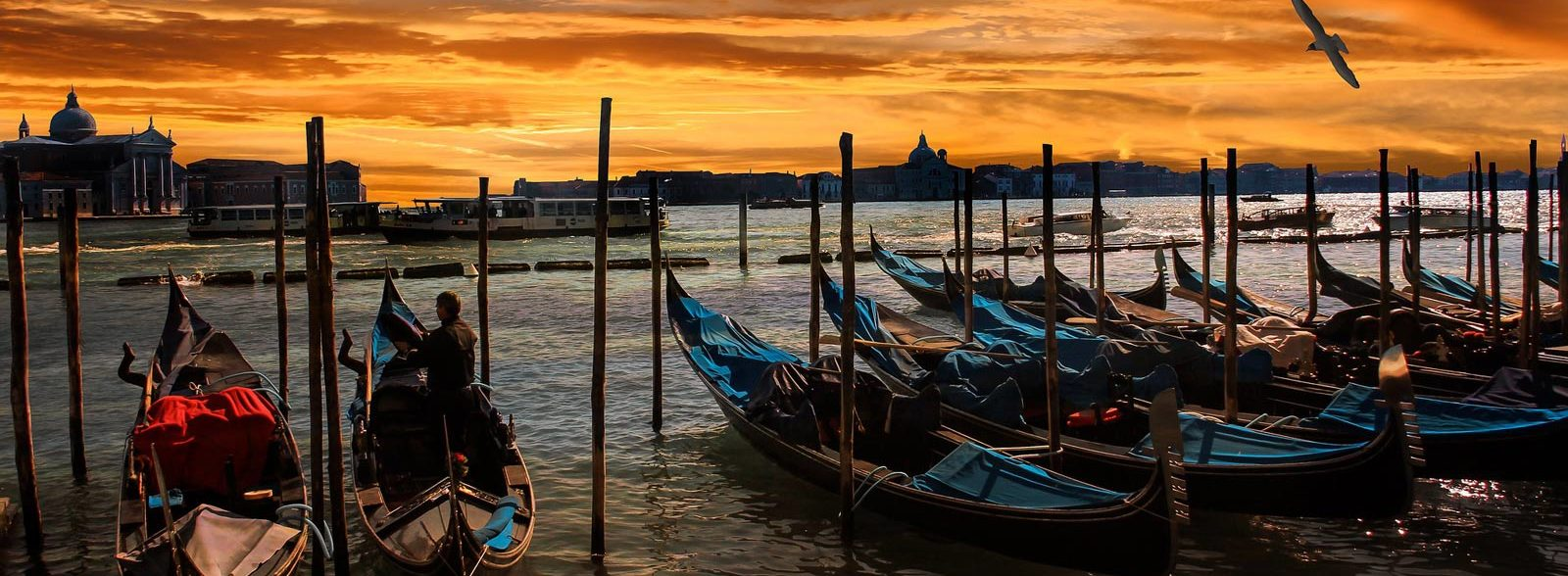 Where to watch the best sunrise in Venice
